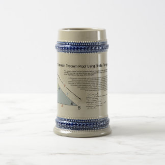 Pythagorean Theorem Proof Using Similar Triangles Beer Stein