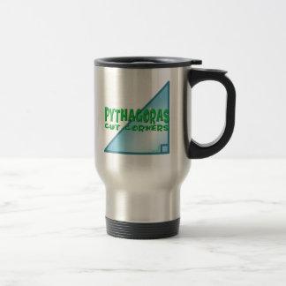 Pythagorean Theorem Travel Mug