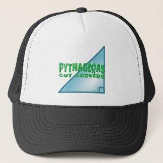 Pythagorean Theorem Trucker Hat