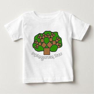 Pythagorean Tree Baby T-Shirt
