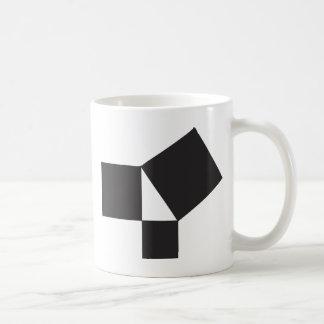 pythagorian thoerem coffee mug