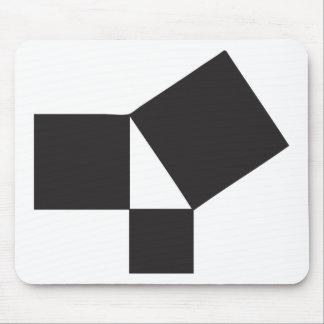 pythagorian thoerem mouse pad