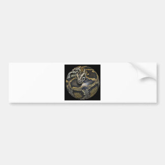 """""""Python"""" design gifts and products Bumper Sticker"""