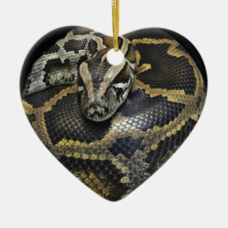 """Python"" design gifts and products Ceramic Ornament"