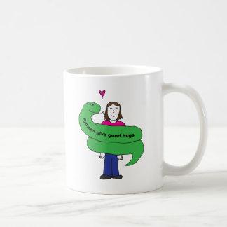 Python Hugs Mug