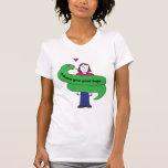 Python Hugs Woman's T-shirt