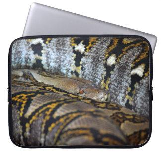 Python photo laptop computer sleeves