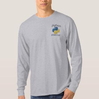 python powered shirt