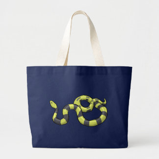 Python Snake Large Tote Bag
