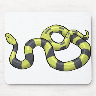 Python Snake Mouse Pad