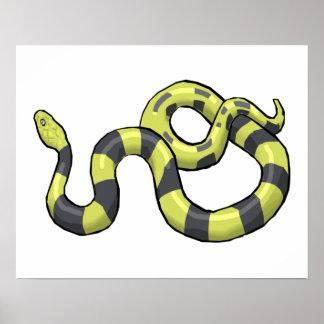 Python Snake Poster