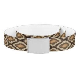 Python snake skin pattern 2 belt