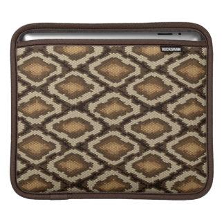 Python snake skin pattern 2 iPad sleeves