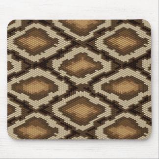 Python snake skin pattern 2 mouse pad