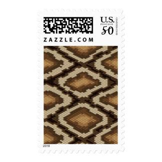 Python snake skin pattern 2 postage