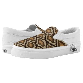 Python snake skin pattern 2 Slip-On sneakers