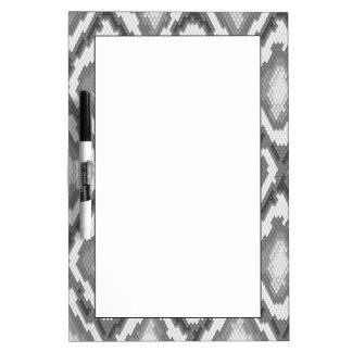 Python snake skin pattern Dry-Erase whiteboard