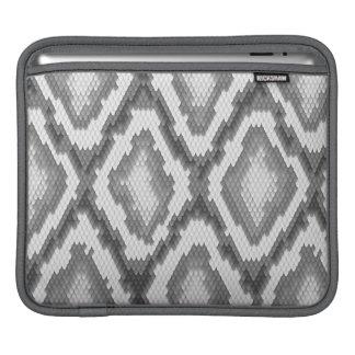 Python snake skin pattern iPad sleeves
