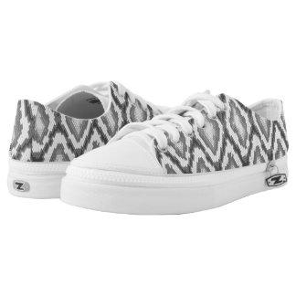 Python snake skin pattern Low-Top sneakers