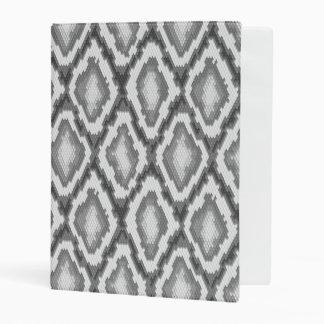 Python snake skin pattern mini binder
