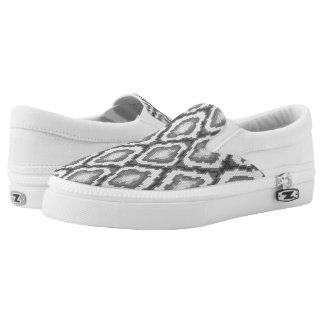 Python snake skin pattern Slip-On sneakers