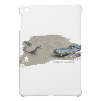 Python vs Alligator 01 iPad Mini Cover