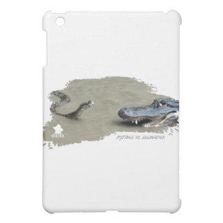 Python vs Alligator 01 iPad Mini Cover
