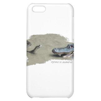 Python vs Alligator 01 iPhone 5C Cover