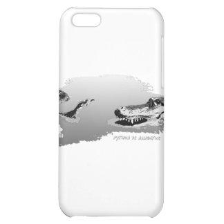 Python vs Alligator grey 01 iPhone 5C Cover