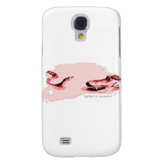 Python vs Alligator red 01 Galaxy S4 Covers