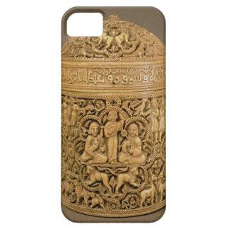Pyx con el alivio que representa los placeres de iPhone 5 carcasas