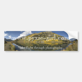 pyxie photography colorado image bumper sticker