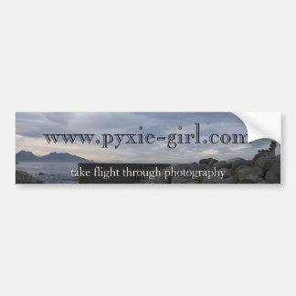 pyxie photography kaikoura image bumper sticker