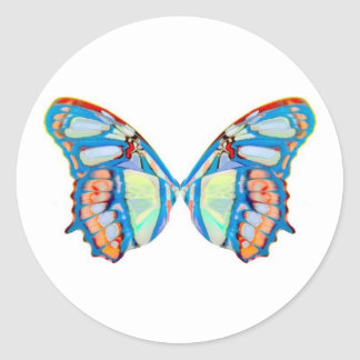 pyxie wings - just wings classic round sticker