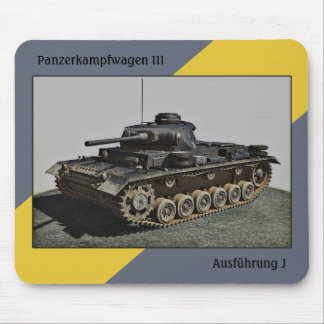 Pzkpfw III Ausf J-MousePad Mouse Pad