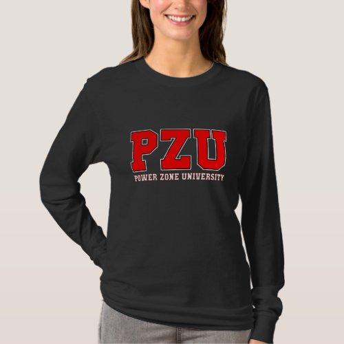 PZU _ Black Long Sleeve 2 T_Shirt
