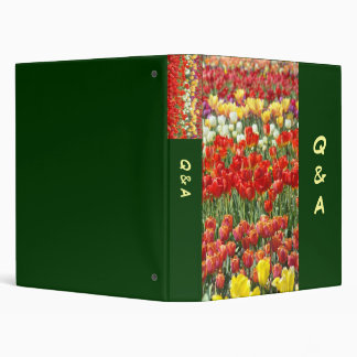 Q & A binder Questions and Answers binder Business