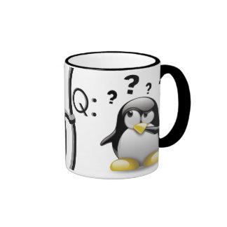Q & A RINGER COFFEE MUG