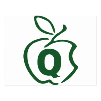 Q-apple Postcard