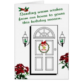 Q - CHRISTMAS ELF MONOGRAM GREETING CARD