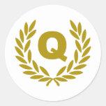 Q-corona-premio.png Pegatina