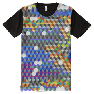 Q Cubes All-Over-Print T-Shirt