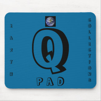Q, EARTH, COLLECTIONS, P A D MOUSE PAD