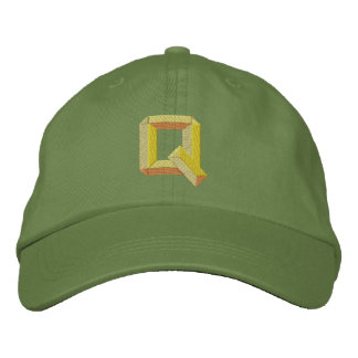 Q EMBROIDERED HATS