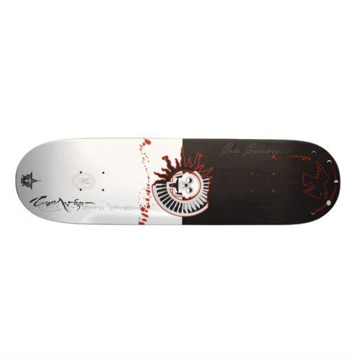 Q-ervo Skateboard Decks