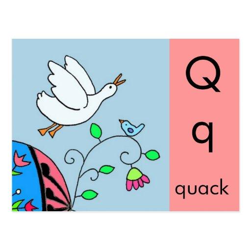 Q Is For Quack Q is for Quack Postcar...