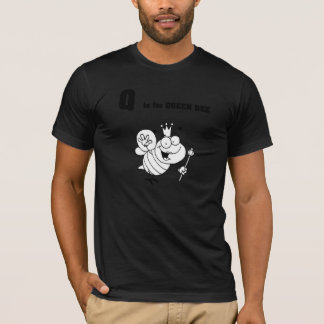 Q is for Queen Bee Mens T-Shirt