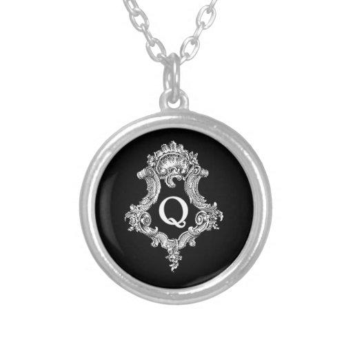 Q Monogram Initial Jewelry