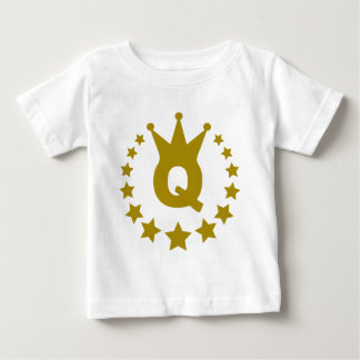 Q-real-stars-crown.png Baby T-Shirt