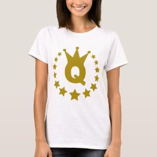 Q-real-stars-crown.png T-Shirt